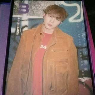 WTT WANNA ONE NOTHING WITHOUT YOU ALBUM CALENDAR COVER/ STANDEE / PHOTOCARD TO WOOJIN