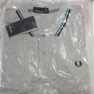 Fred Perry GREY Polo Tee