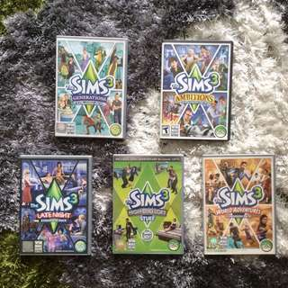 SIMS 3 - PC/MAC Expansions and Stuff