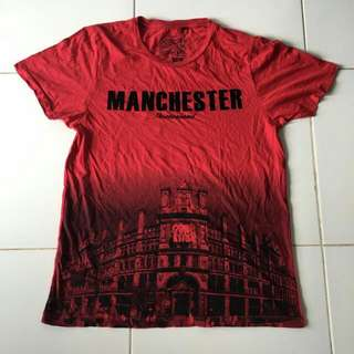 Three Second Tshirt Manchester