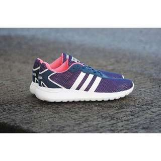 Adidas cloudfoam speed navy white pink