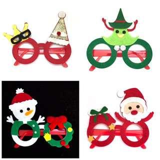 Christmas Glasses Felt
