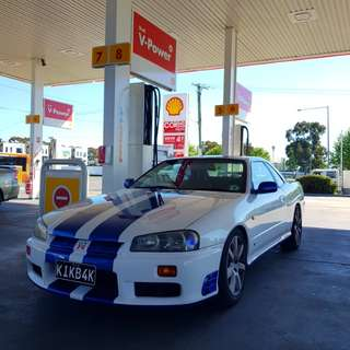 R34 GT Coupe