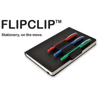 FLIPCLIP™ : For Hardback Notebooks