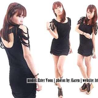 #1212YES Laser Cut Dress
