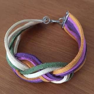 * Infinity Knot Colours Bracelet