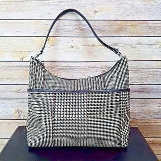 Ralph Lauren Houndstooth Handbag