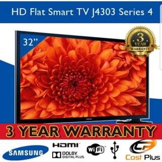 Brand new 32 inch Samsung smart LED TV (Free 3 years warranty)