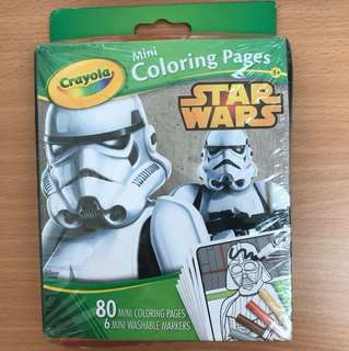Crayola Star Wars Mini Coloring Pages