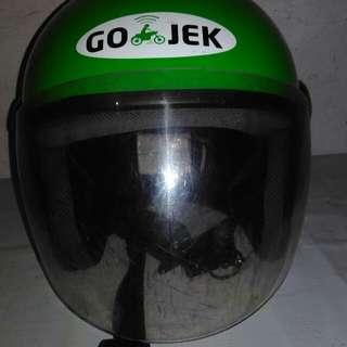 helm gojek bekas