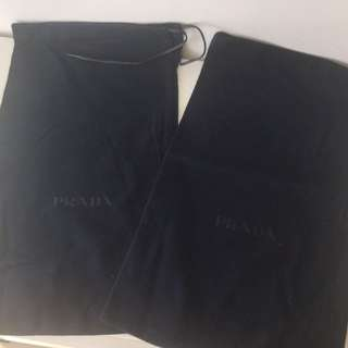 Prada shoes bag
