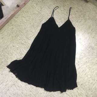 Forever 21 Black Slip Dress
