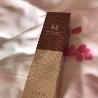 M Perfect Cover BB Cream SPF42/PA+++ (No.21)