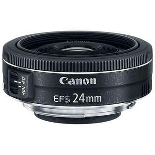 Canon 24mm F2.8 Pancake Lens
