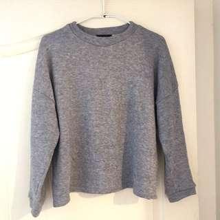 Starmimi🐘捲捲灰暖衫🎄Basic collection grey shirt