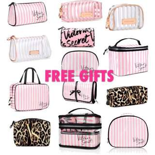 HOLIDAY IS BEGIN ! VS COSMETIC POUCH GIVE AWAY !