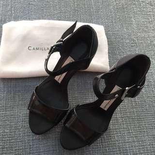 Camilla Skovgaard Platform Ankle Strap Heels