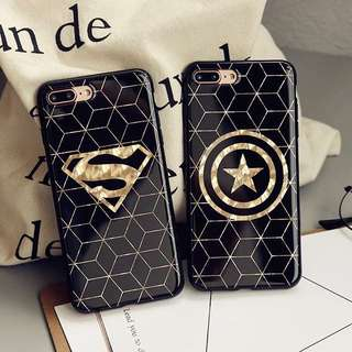 [P.O OPEN] SUPERHEROES PHONE CASES iPhone 7/7+/6/6+/6s/6s+