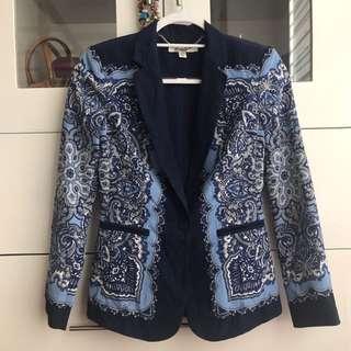 Ever New printed blazer