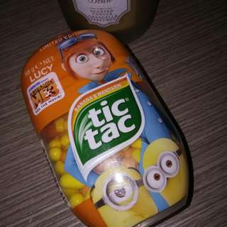 Despicable Me 3 LIMITED EDITION TicTac