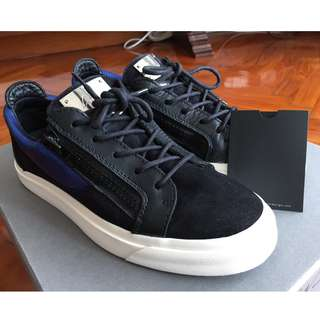 (USED) GIUSEPPE ZANOTTI LONDON SNEAKERS SIZE 39.5 GZ SHOES