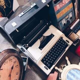 復古打字機 功能正常 開店裝飾必備