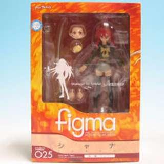 日版 Figma 025 灼眼的夏娜 炎髮 Shana