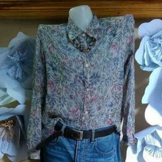 Floral Shirt floral longsleeve formal attire