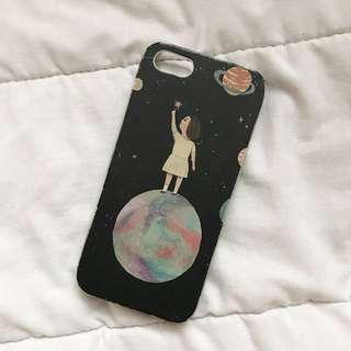 iPhone 5/5s/5SE Moon Girl Case