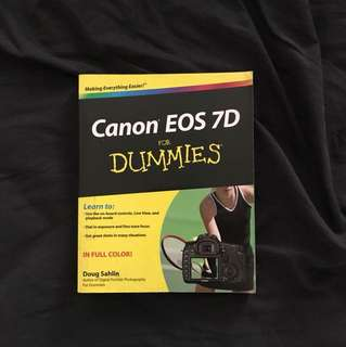 Canon 7D for Dummies