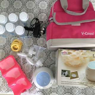 Spectra M1 electric double breast pump