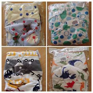 *NEW* Minky Pocket Cloth Diaper