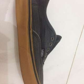 Vans Authentic Black Brown
