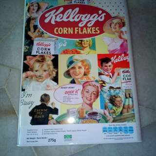 Kellogg's Cornflakes Empty Tin Box