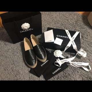 CHANEL Espadrilles 鉛筆鞋