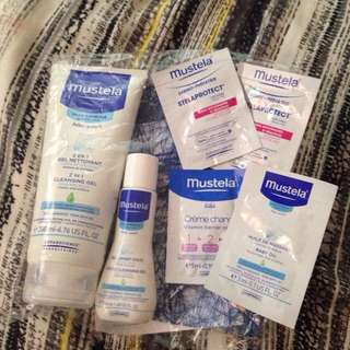 TAKEALL BUNDLE!!  MUSTELA 2in1 cleansing gel