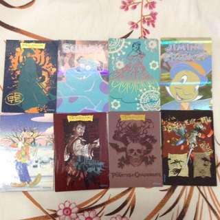 迪士尼卡通人物角色卡 Disney cartoon character cards