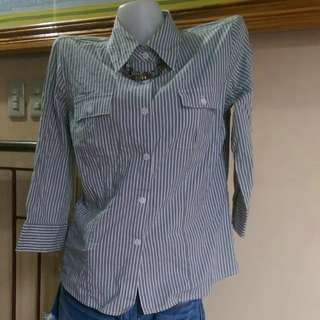 Stripes Shirt kemeja