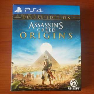 SONY PLAYSTATION 4 (PS4) GAME : ASSASSINS CREED ORIGINS