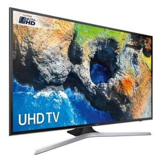 43MU6100 Samsung UHD Smart TV - Installment plan