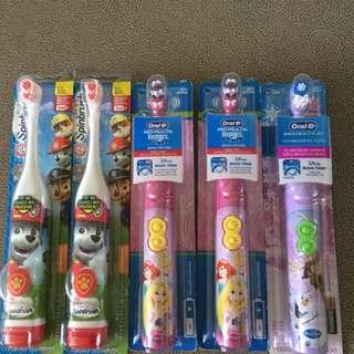 Oral-B electronic toothbrush (disney princess & frozen)