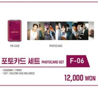 [LOOSE] WANNA ONE FANCON MD PHOTOCARD SET