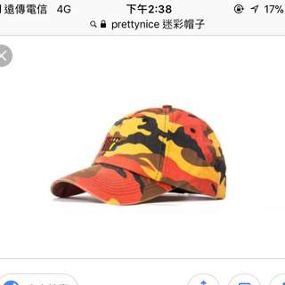 Prettynice迷彩帽子