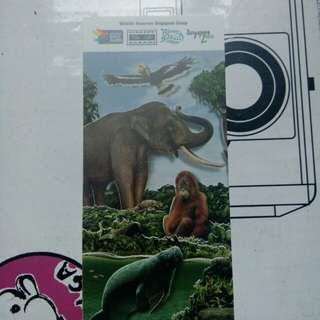 Singapore Zoo Ticket