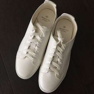 Progetto Leather sneakers