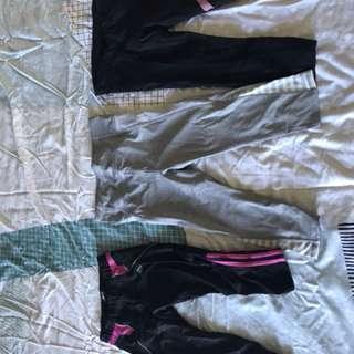 Adidas, cotton on, Lorna Jane tights