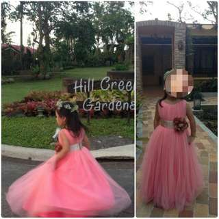 Soft Tulle Gown 4Y
