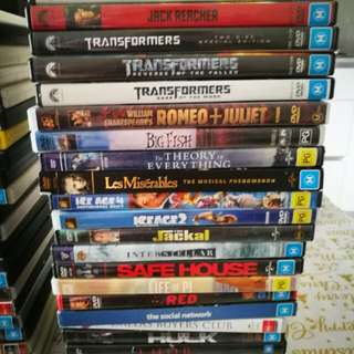 Dvd assorted at least 42 titles