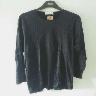 Black Top Lengan Panjang
