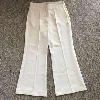 BNWOT White pants
